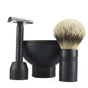 Safety Razor With Blades Shaving Set